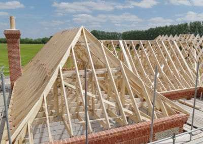 Roof Trusses in Sporle