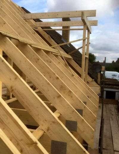 Attic Roof Trusses